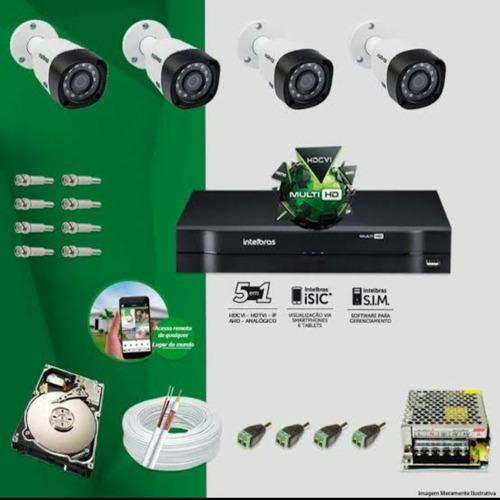 kit completo intelbras para sua segurança