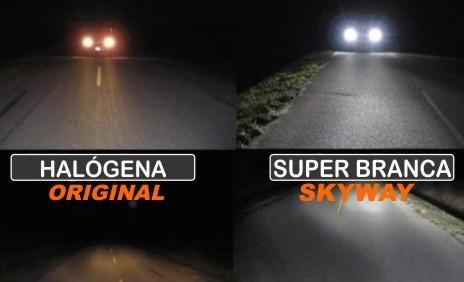 kit completo lampada super branca hyundai i30 2009 a 2012