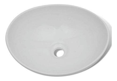 kit completo lavamanos blanco canoa -desagüe - griferia