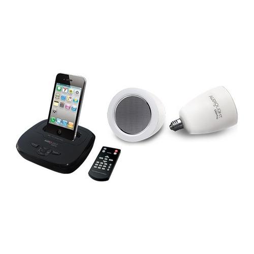 kit completo lâmpada audio light  220v