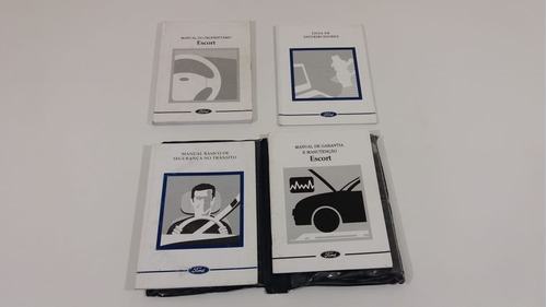 kit completo manual escort 2002 eco 45