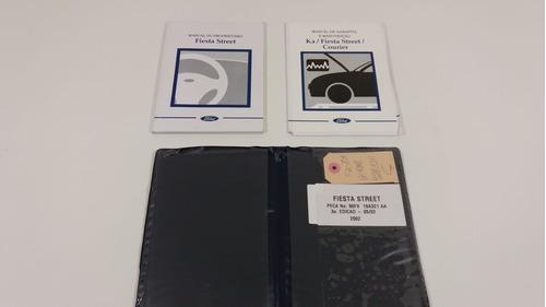 kit completo manual fiesta 2002/2003 eco 58