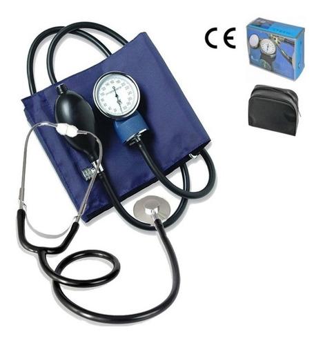 kit completo medidor de presión, tensiometro + estetoscopio