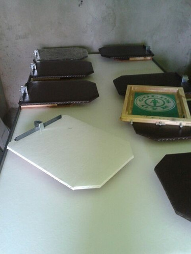 kit completo *mesa+tela+pote de tinta+ rodo * kit em oferta