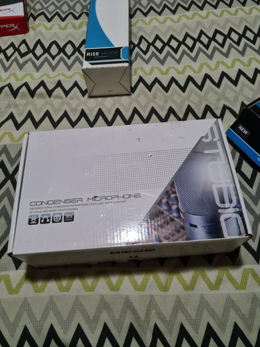 kit completo microfone bm800 mais phantom power