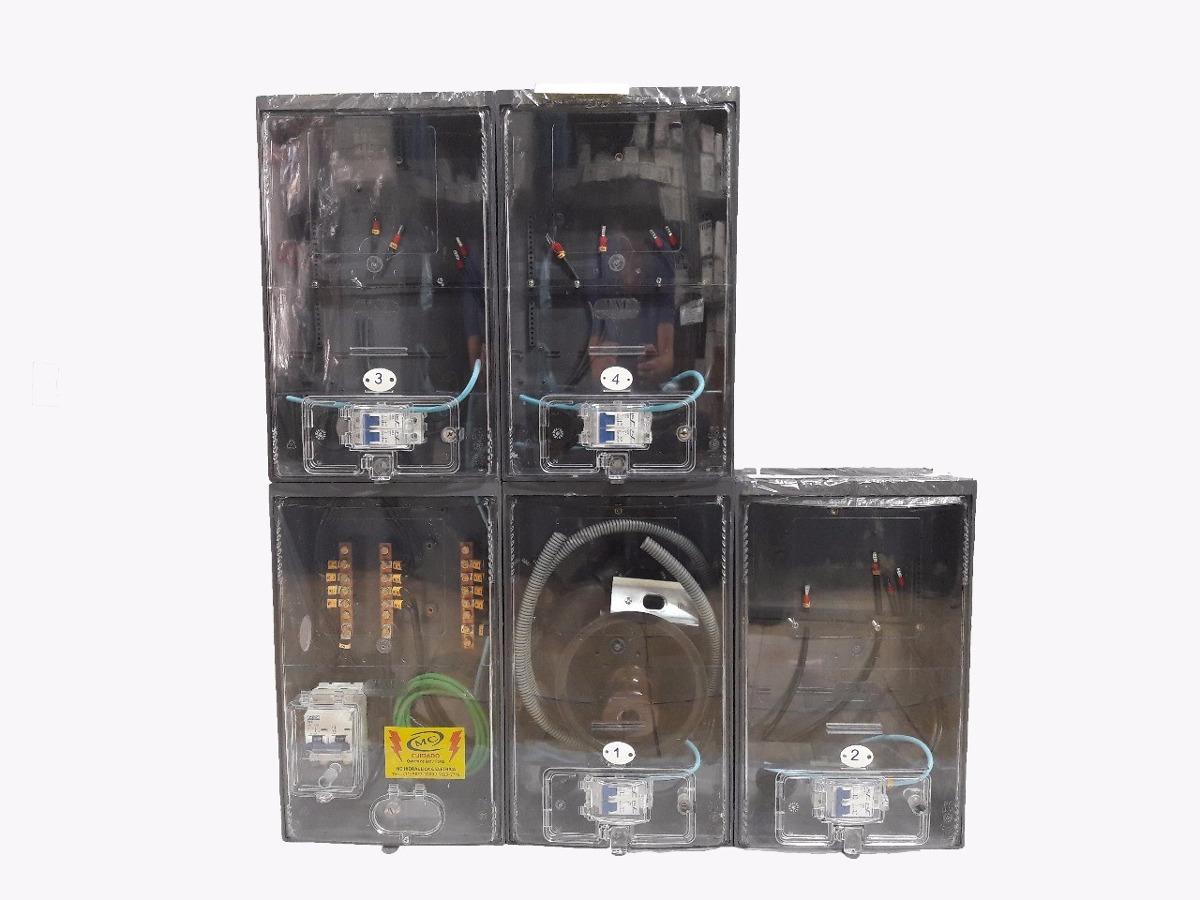 6838c4983d3 Kit Completo Padrão Eletropaulo Para 4 Medidores Bifásicos - R  860 ...