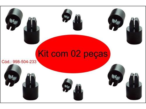 kit completo palio c/ bucha de metal 2 peças