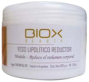 kit completo para 15 aplicaciones yesoterapia reductora biox