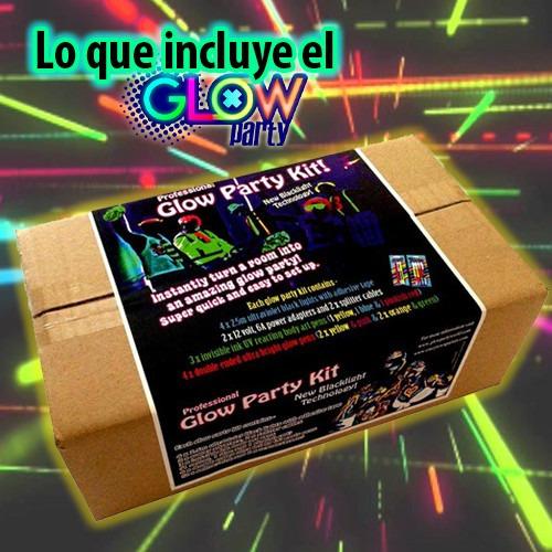 kit completo para tu fiesta neon glow