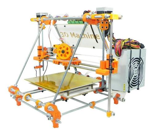 kit completo peças plásticas impressora 3d prusa mendel v2