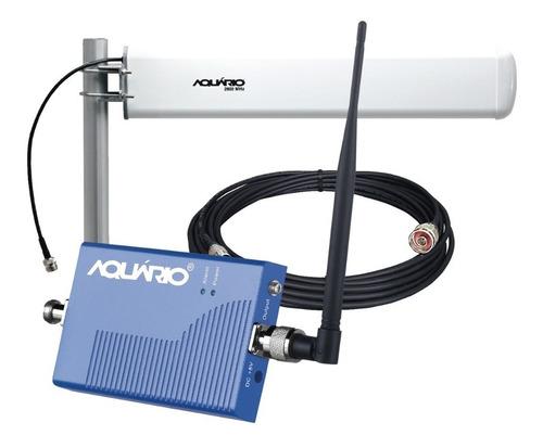 kit completo repetidor e amplificador de sinal de celular 2600mhz 60db de ganho com envio imediato direto da fábrica