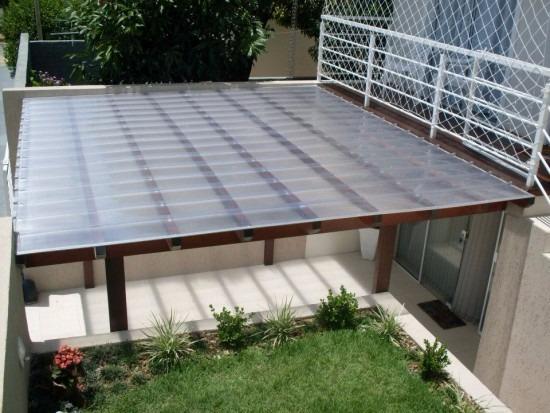 Kit completo telhas click de policarbonato cristal 3 x 6 - Cristal policarbonato ...