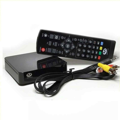 kit completo tv digital tda antena exterior y decodificador