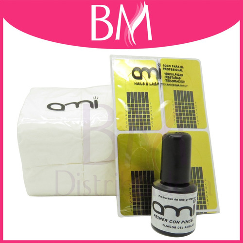 kit completo uñas gelificadas uv top clear primer clarific