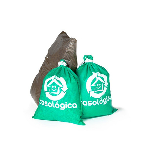 kit compostagem - minhocas + terra + serragem