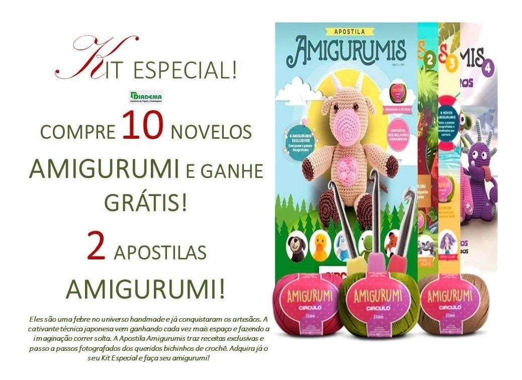 Kit Linha Amigurumi Tons Pastéis - 5 Cores | Amigurumi, Cores ... | 756x1038