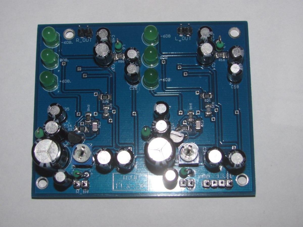 kit compresor limitador básico audio stereo para transmisor