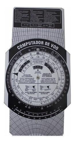 kit computador de voo + transferidor (frete grátis)