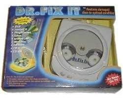 kit con reparador/limpiador automático de cds y dvds vv9