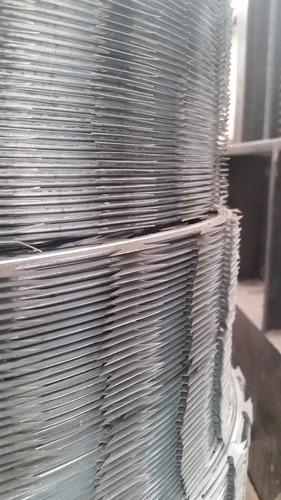 kit concertina ouriço cerca arame farpado proteção 450mm