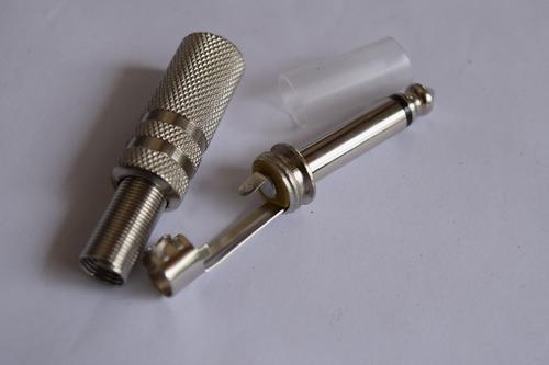 kit conector ou plug csr 07 canon fêmea/10 macho + 06 p10