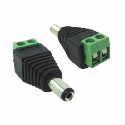 kit conector p4 macho borne para cftv 50 unidades - promoção