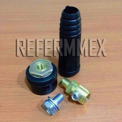 kit conector rapido soldadora tipo inversor 10 - 25 mm 200 a