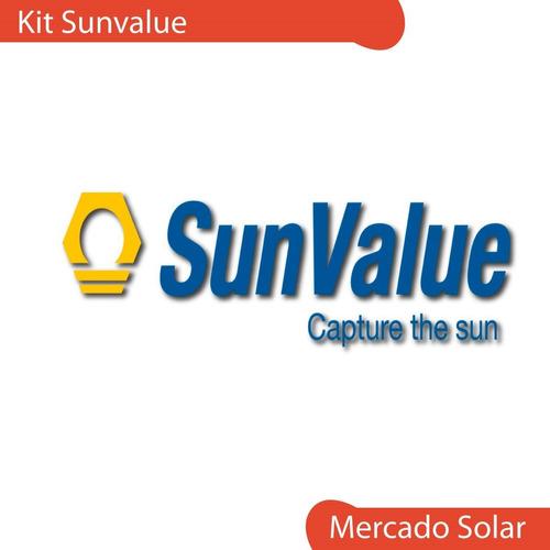 kit conexiones para kit climatización piscina solar sunvalue