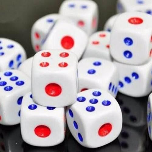 kit conjunto 72 peças jogo de dados 14mm rpg tabuleiro
