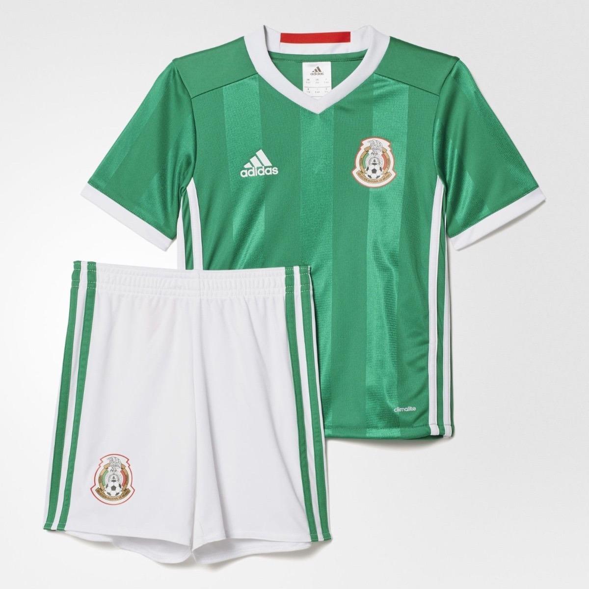 Kit Conjunto adidas De La Seleccion De Mexico Niño Y Bebe -   589.00 ... 1d9e4b1200560