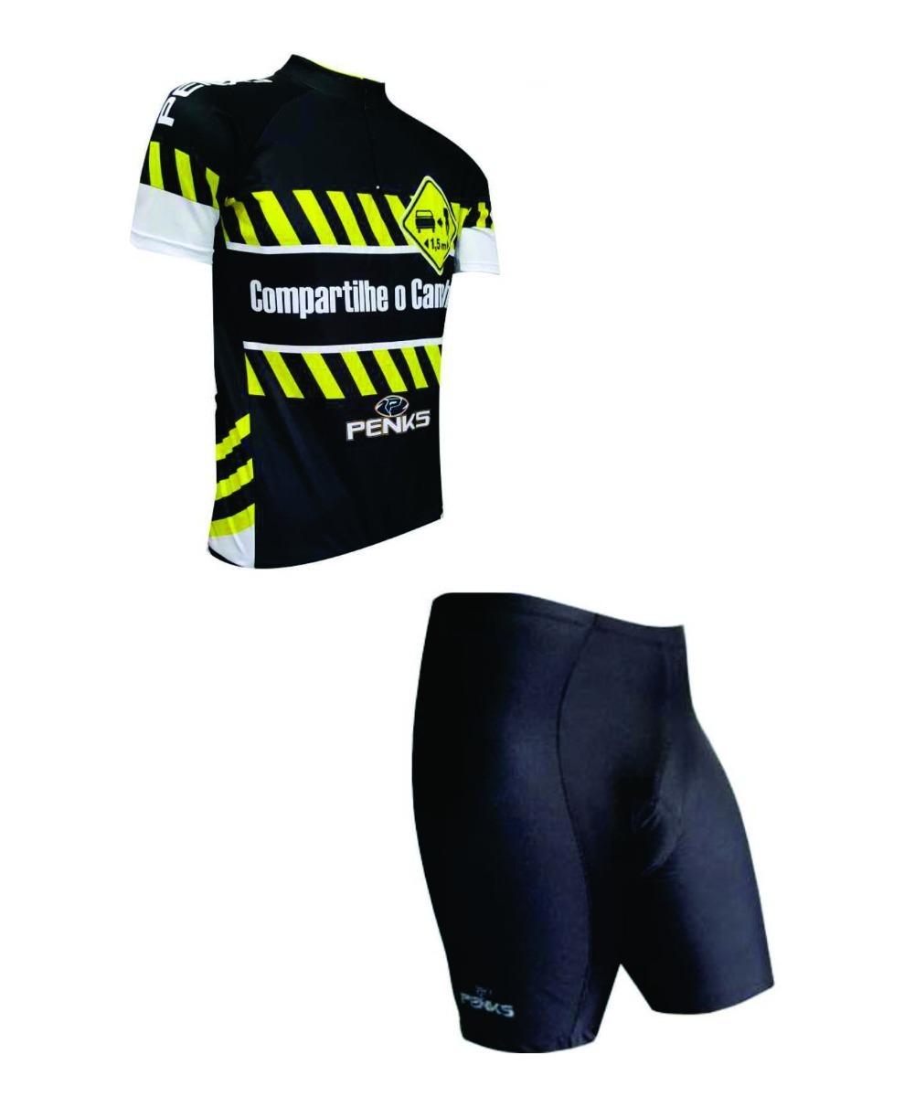 ed6d3a17b kit conjunto ciclista masculino distancia bermuda + camisa. Carregando zoom.