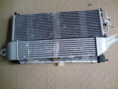 kit conjunto condensador eletro radiador chevrolet  s 10
