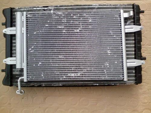 kit conjunto condensador eletro radiador vw saveiro g 5