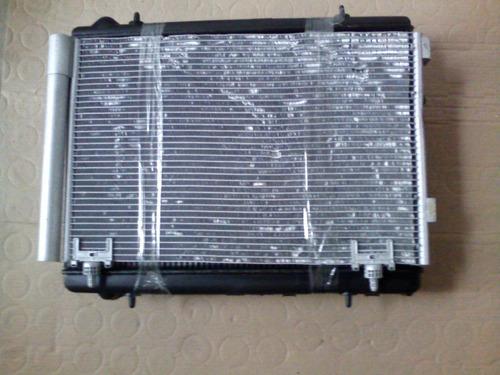 kit conjunto condensador radiador  peugeot 307 c 4 pallas