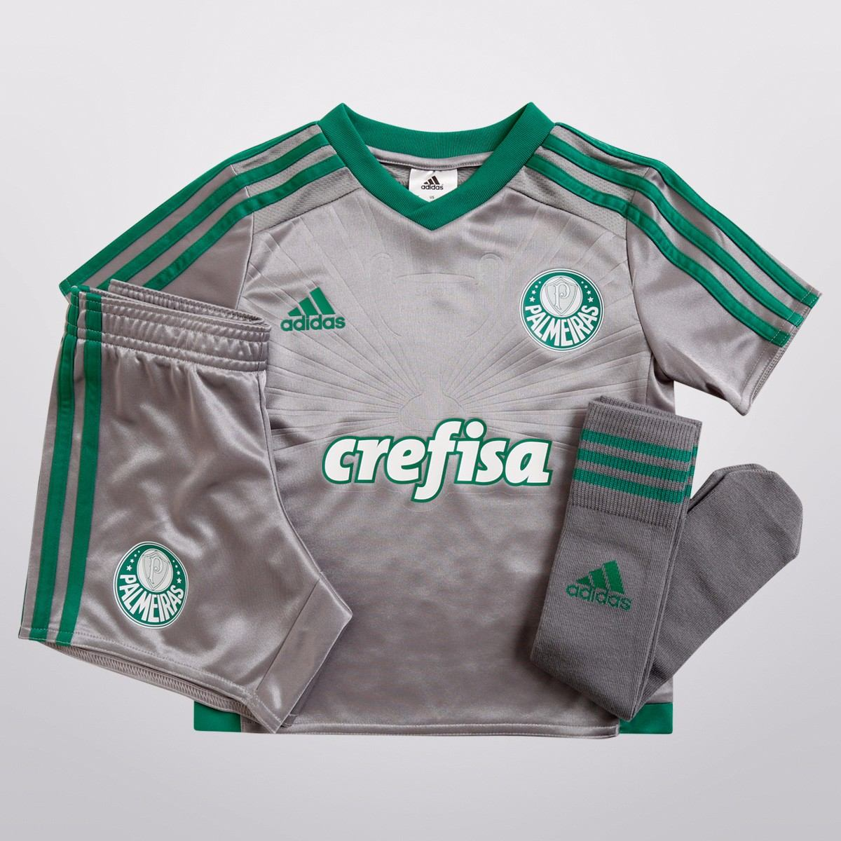 Kit Conjunto Infantil adidas Palmeiras 3 15 16 De 199 e4aa5d9f6ffad