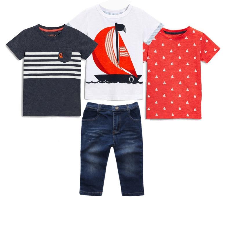 419cb62276 Carregando zoom... kit conjuntos infantil masculino