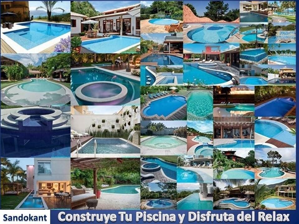 Kit construye alberca piscina jacuzzi tina planos for Que necesito para construir una piscina