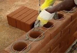 kit construye maquina bloques ecológicos planos 2 huecos
