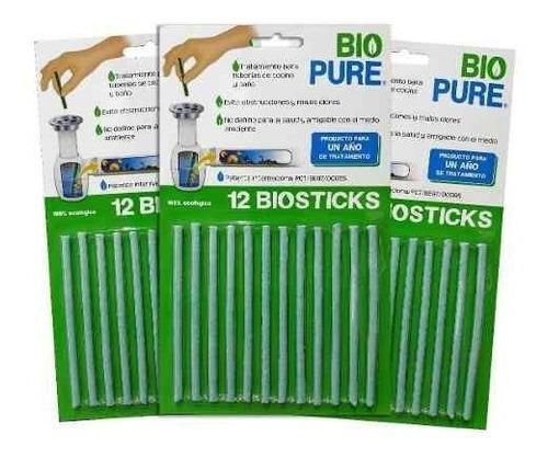 kit contra malos olores en baño y cocina 3x biopure 12 pack