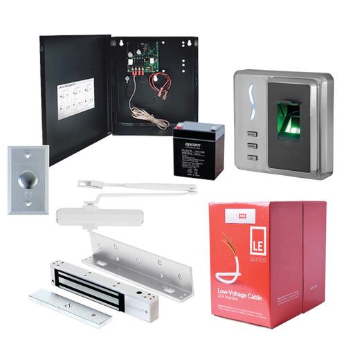 kit control acceso biometrico huella proximidad sf101 +cable