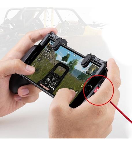 kit controle botões r1 l1 suporte gatilho celular ipega pubg