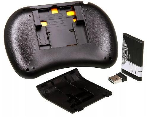 kit controle joystick cabo usb jogos + mini teclado