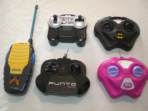 kit controles remoto carrinhos antigos brinquedo de controle