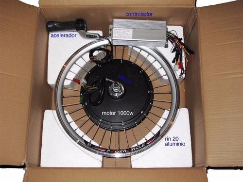 kit conversión de bicicleta eléctrica 1000 watts