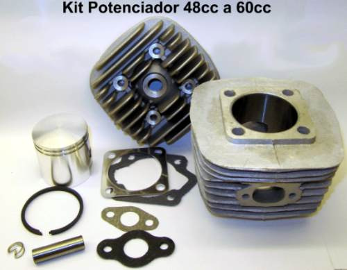 kit conversion motor bicicleta de 48cc a 60cc