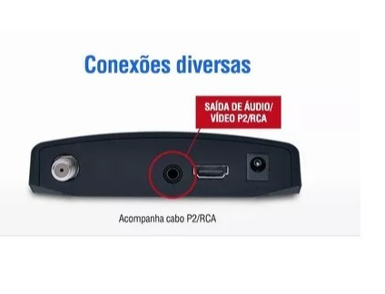 kit conversor digital dtv7000 + antena hdtv dtv-1500 c/hdmi