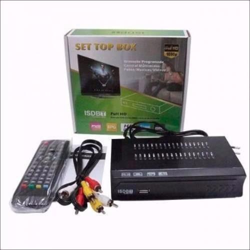 kit conversor digital tv+ antena digital interna cabo 3.0mts