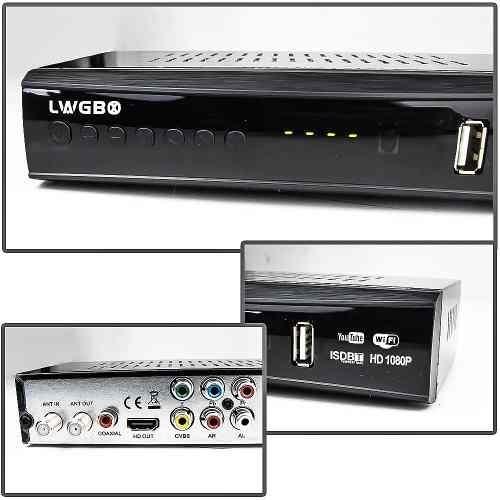 kit conversor digital wifi youtube+antena 28 elemen+cabo 10m