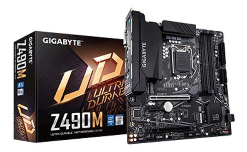 kit core i3 1200 + gigabyte z490m 10° geração