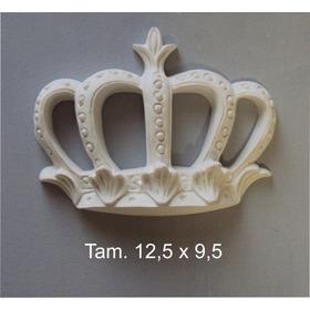 Kit Coroa Real E Coroa Vazada, Total 50 Pçs(25pçs Cada Mod).